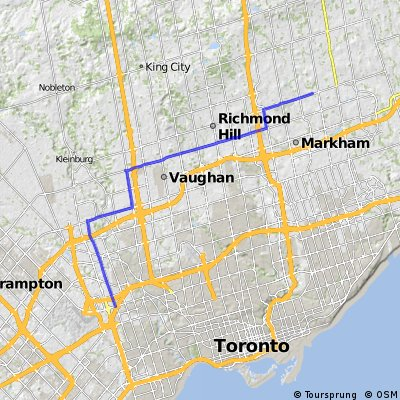 45km Ronson to Markham, Route 4