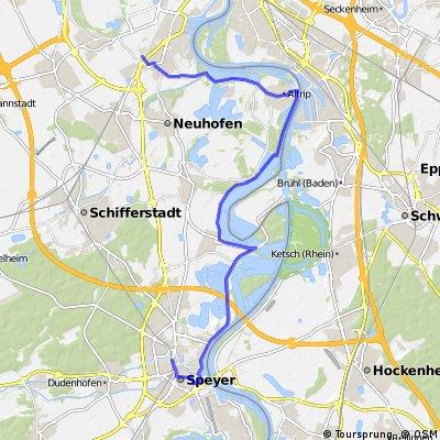 Speyer Hbf - Lu.Rheingönheim Hbf.