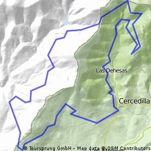 Cercedilla-Fuenfría-Gudillos-Collado del Arcipreste 30.06.12