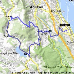 Thalwil Platte Albispass Buchenegg Thalwil Platte