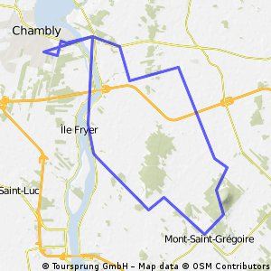 chambly mont saint gregoire
