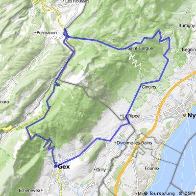 Arzier - Col de la Faucille - La Givrine