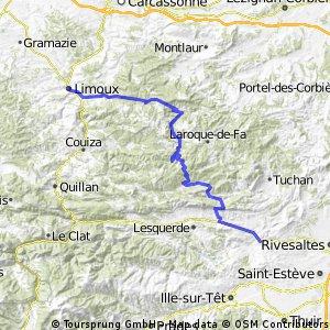 Limoux - Rouffiac - Estagel (Tour 65)