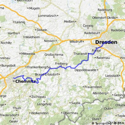 Chemnitz-Freiberg-Dresden