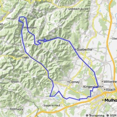 118km - Col du Bramont - Markstein