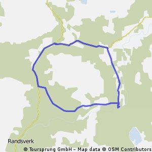 Sjoa 21 km