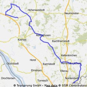 Tour nach Schenefeld