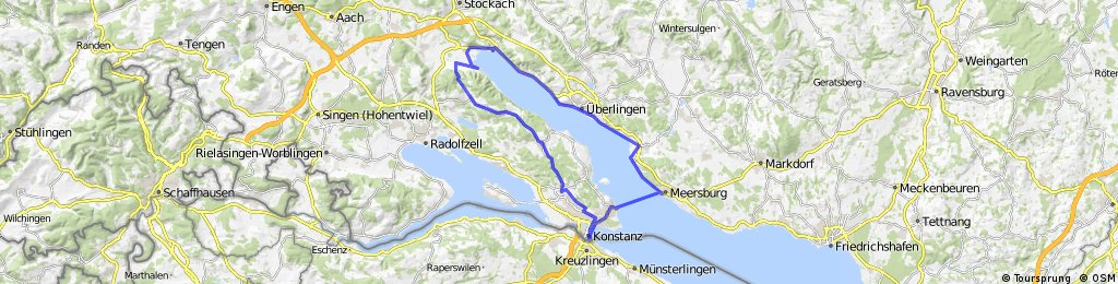 Von Konstanz um den Überlinger See CLONED FROM ROUTE 29754 CLONED FROM ROUTE 205481