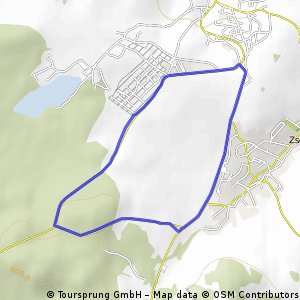 Filzteich - Radstrecke