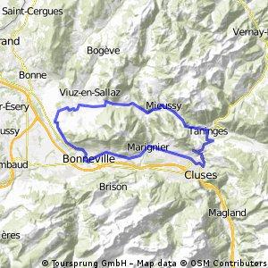 Tour du môle - Chatillon par Taninges