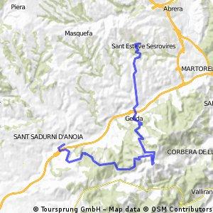 St. Esteve - St. Sadurní per l'Ordal
