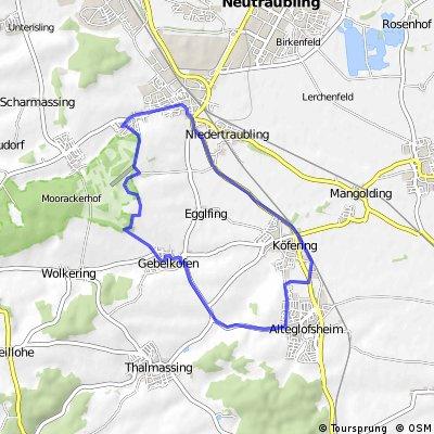 Obertraubling, Köfering, Alteglofsheim, Talmassing, Gebelkofen, Piesenkofen
