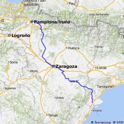 ALT. 1 - Amposta - Pamplona