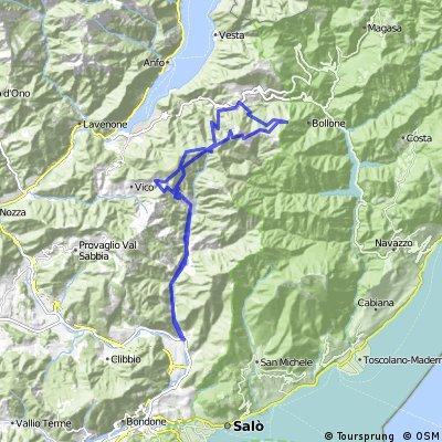 Val Degagna - Capovalle - Manos