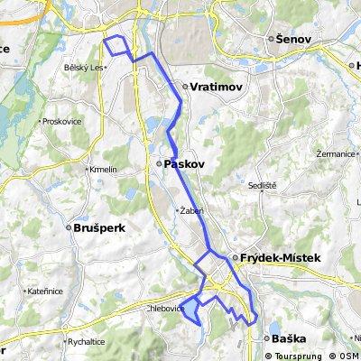 2012-07-07 Olešná a zpět s Luckou