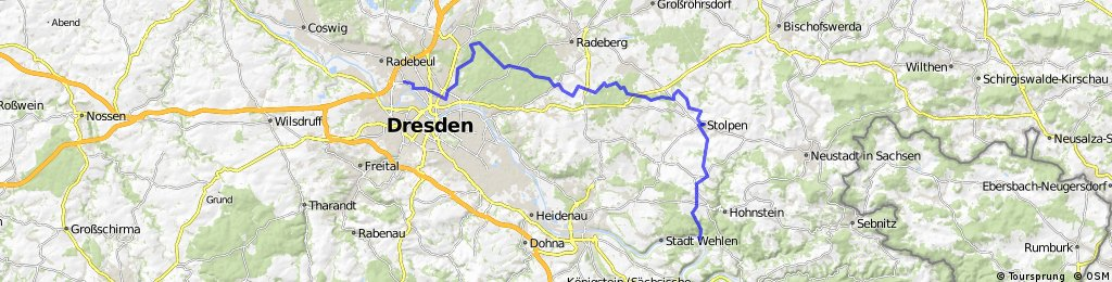 Dresden - Stolpen -Rathen