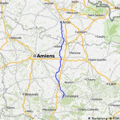 Arras to Compiegne