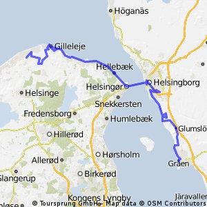 Øresund-Woche 2.Tag