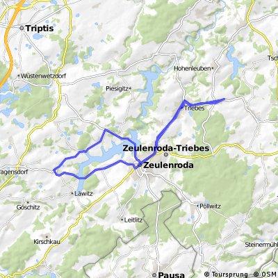 Mehla - Zeulenroda - Stelzendorf - Mehla