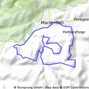 Mach 2 Tour bei Machynlleth