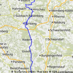 ADFC-Hof: 2-Tagestour auf dem Vilstalradweg