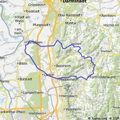 RTF Einhausen 77 km