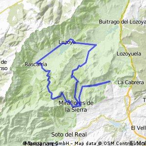 Valdemanco - La Morcuera - Canencia - Valdemanco