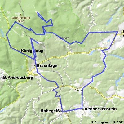 Gipfelrunde Harz