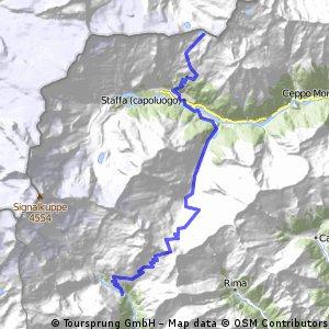 5° Tappa Monte Rosa Tour