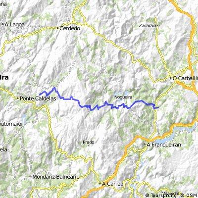 3 dzień San Clodio do A Lama (Serra do Suido)