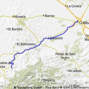 Vía Verde de la Sierra de Alcaraz (Albacete)