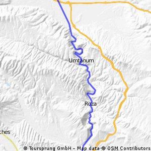 Selah-Ellensburg-Yakima Canyon