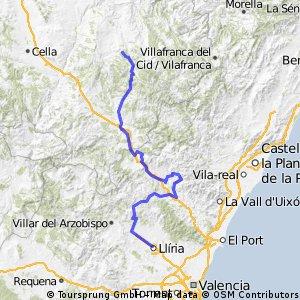 Vuelta a España Etapa 8 Liria- Alto de La Muela