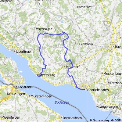 Bodensee MTB-Tour - Etappe 4