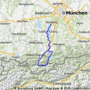 Road to Garmisch