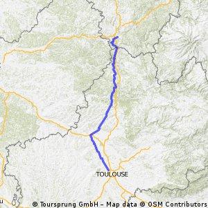 Stage 18 Tour de France 2012 From Blagnac to Brive-la-Gaillarde