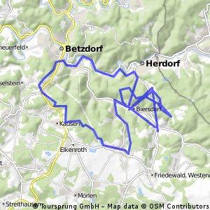 Herdorf-Niederdreisbach-Weitefeld-Steineroth-Herdorf CLONED FROM ROUTE 1507046