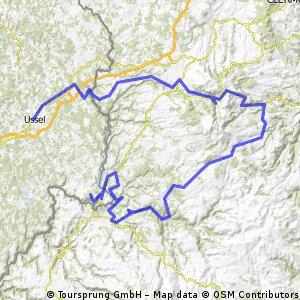 Etappe 7: Ussel-Puy de Bort