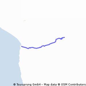 Arica - Putre Sur