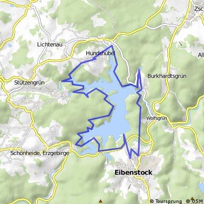 rund um die Talsperre Eibenstock