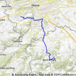 Sázavská bike tour - I. etapa