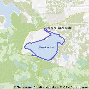 Bärwalder See - Rundweg CLONED FROM ROUTE 453074