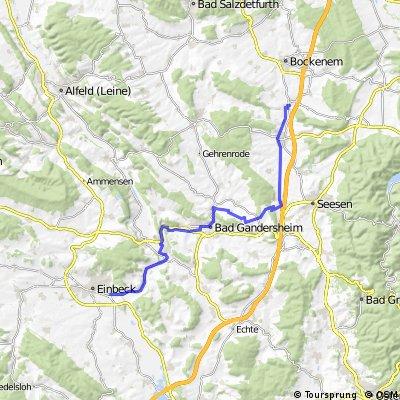 Bis zum Stadtrand von Einbeck