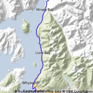 West Van to Brittania Bean and Back