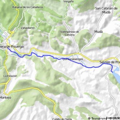 Cervera de Pisuerga - Ermita Quintanahernando CLONED FROM ROUTE 385312