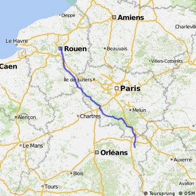 4th stage Rouen Amilly