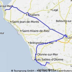 TDF 2 Passage du Gois - Talmont Saint Hilaire