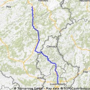 Планируемый Люксембург - Спримон
