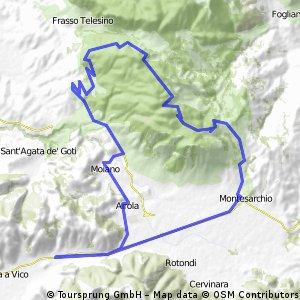 Arapaia - Taburno - Montesarchio