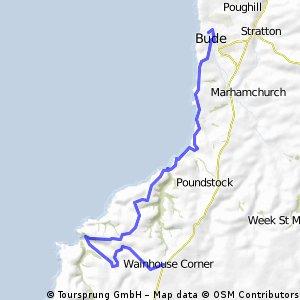 Tintagel 23 km